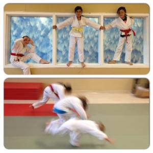 "Joyful aikido ""monkeys"" preparing for their best test"