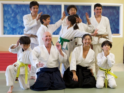 Aikido Youth after testing