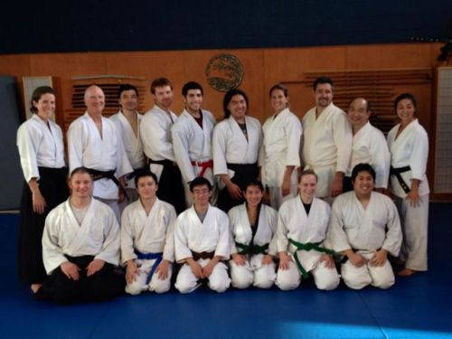 weekend seminar with Utada shihan in Encinitas Aikido.