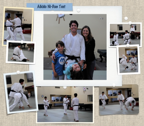A few moments from the Joe's aikido ni-dan test today.